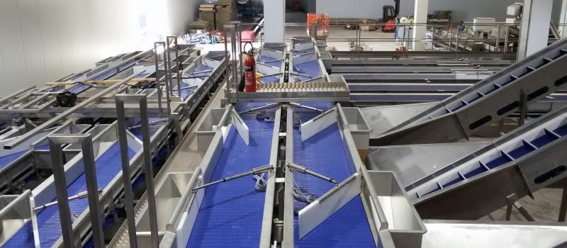 1.1 1013 conveyors with aqtuators